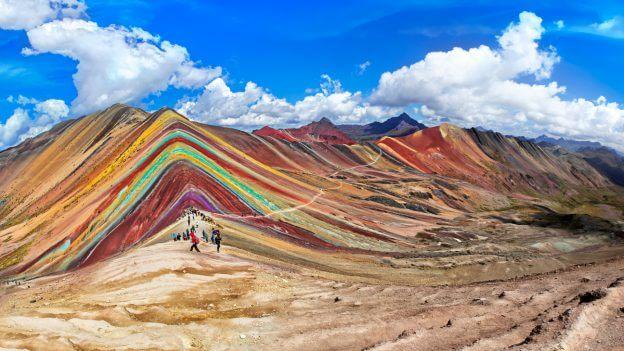 Regenbooglagen van Pachamama